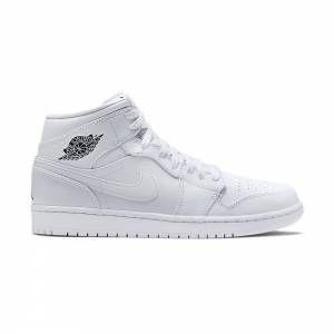buy popular 4d656 e15f9 Chaussures de Basket pour Homme NIKE AIR JORDAN 1 MID BLANCHE