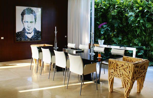 ISTO� Gente :: Mistura perfeita Para compor a decora��o de sua casa na zona sul de S�o Paulo, a arquiteta Bia Prado buscou pincelar seu estilo pr�tico e contempor�neo com toques de criatividade :: Celebridades