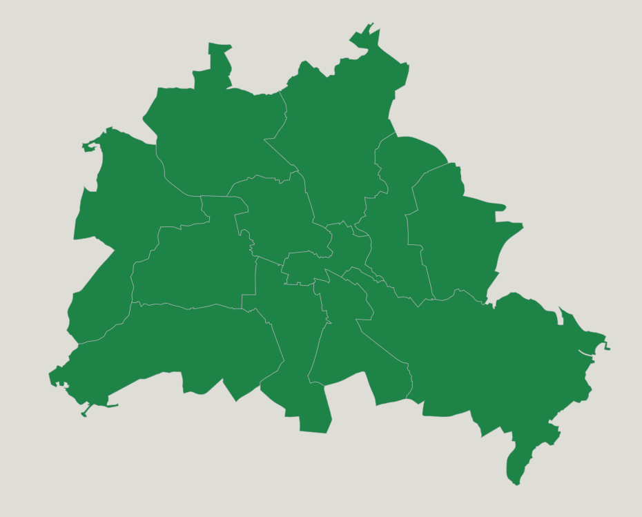 Germany Districts Of Berlin Map Quiz Game Seterra Map Quizzes - Germany city map quiz