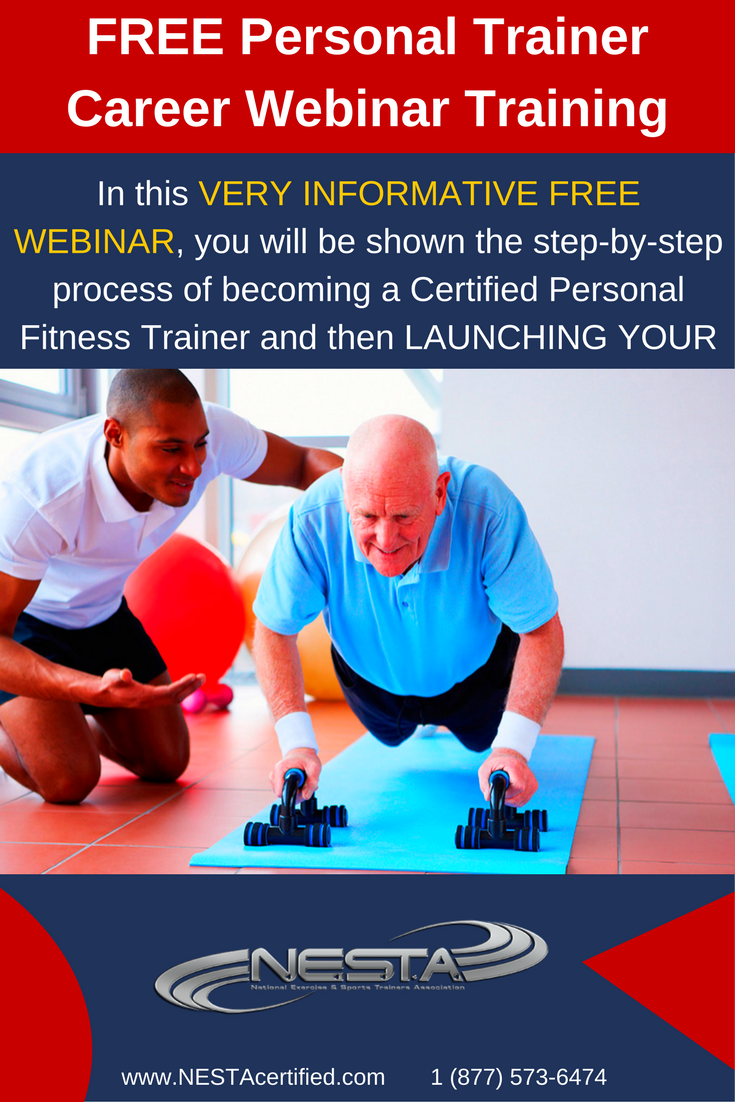 Free Personal Trainer Career Webinar Training Take Part In Our Free