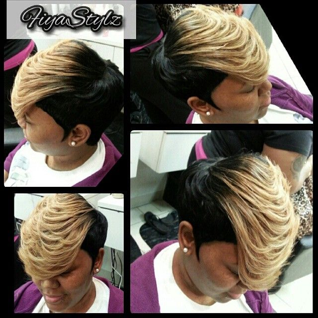 Owner Stylist Fiyastylz On Instagram Fiyastylzhairstudio Fiyateam Hairhustle Short Quick Weave Hairstyles Quick Weave Hairstyles Short Weave Hairstyles
