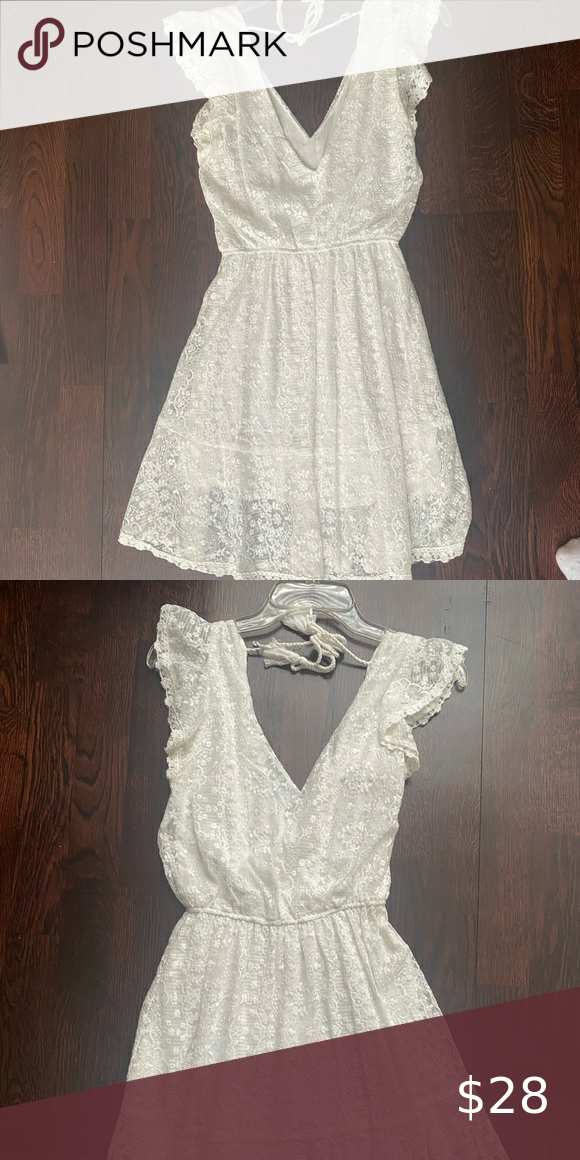 Cupcakes and cashmere white dress Size xs  Wore it once for my bachelorette and … cashmere summer