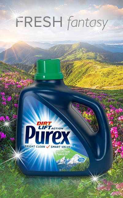 Today S Purex Fresh Fantasy Features Purex Liquid Laundry Detergent In Mountain Breeze Elevate Your Laundry W Liquid Laundry Detergent Purex Laundry Detergent