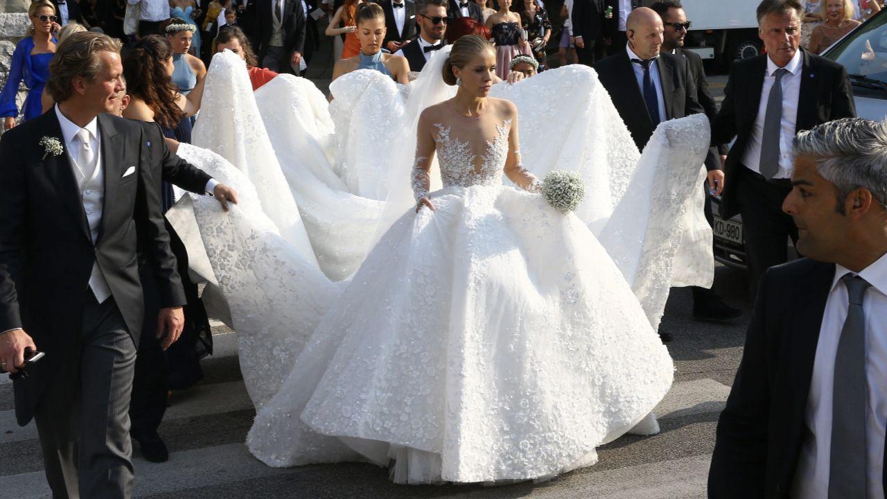 Victoria Swarovski - Ihr Mega-Brautkleid kostete 19 19 Euro