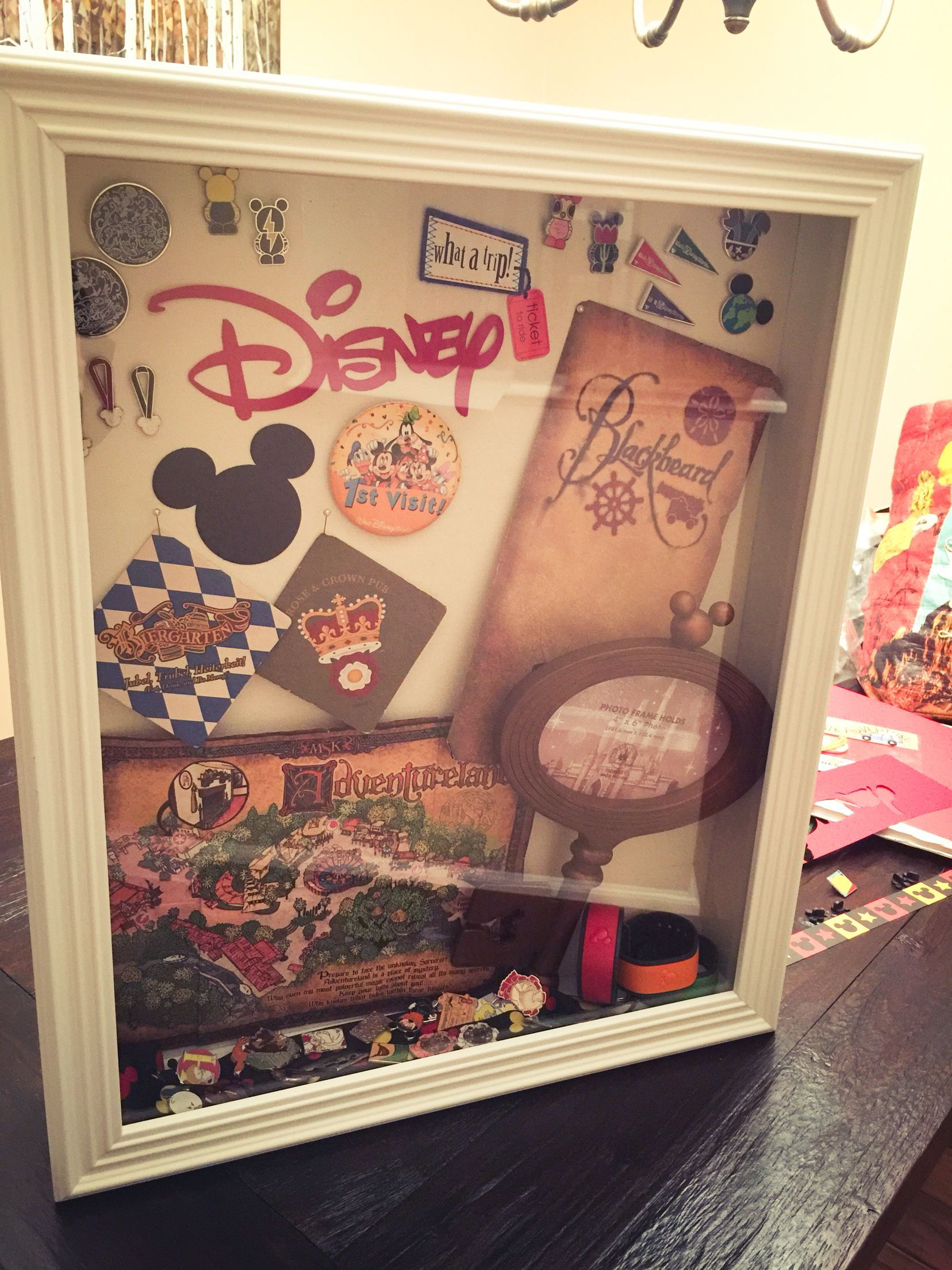 Disney memory boxwhat to do with all those tickets and my disney shadow box from our trip last month i just need to add our jeuxipadfo Choice Image