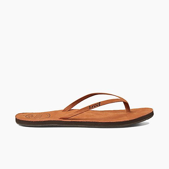 a9121354c7b1 Have the feeling of premium leather on your feet with the Reef Leather  Uptown women s sandals. Great for a day by the pool or a girls night out.