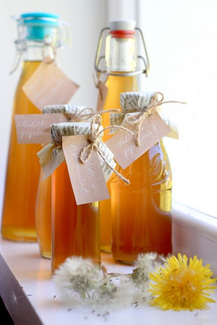 Dandelion Syrup With Extra Flavor Dandelion Recipes Herbal Recipes Homemade Syrup