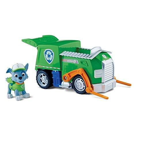 Paw Patrol Rockys Recycling Truck, Vehicle and Figure - Paw patrol rocky, Paw patrol toys, Paw patrol vehicles, Paw patrol, Paw patrol nickelodeon, Toy trucks - ABSB00ITOAYV4,885499394966,Paw Patrol Rockys Recycling Truck, Vehicle and Figure,,Christmas Day Products,Gifts Products