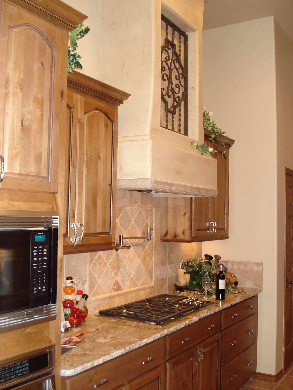 Constance Arteriors Part Of Southwest Galley Kitchen San Carlos Job Range Hood Decor Design Galley Kitchen