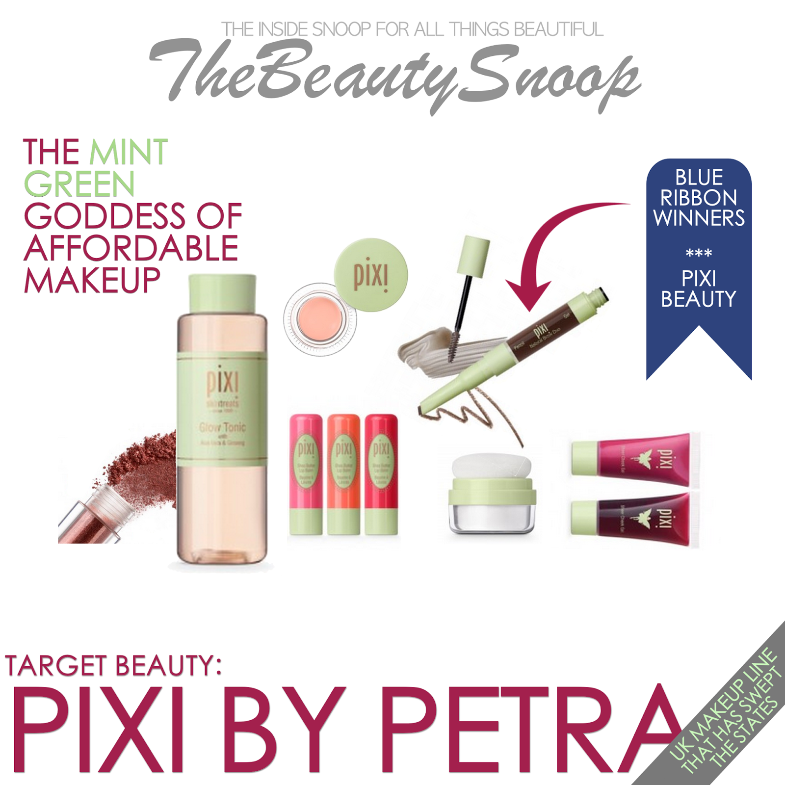 TARGET BEAUTY A PIXI BY PETRA MAKEUP REVIEW Pixie