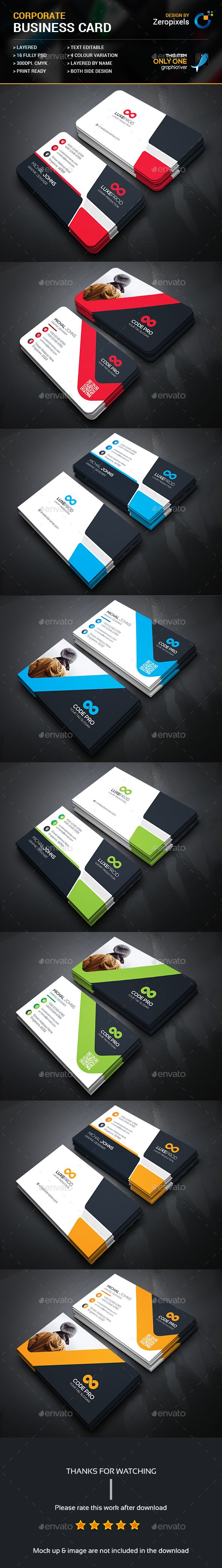 Business Card Bundle Templates Psd Download Here Https Graphicriver Net Item Busin Printing Business Cards Business Card Maker Free Business Card Templates