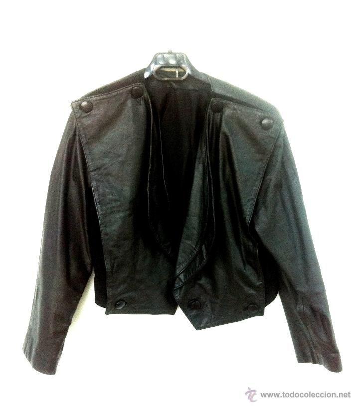 chaqueta de cueroaños 80 hombres