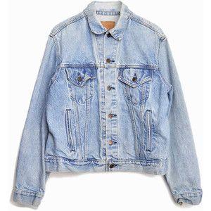 Vintage Light Blue Denim Jacket Nvr38