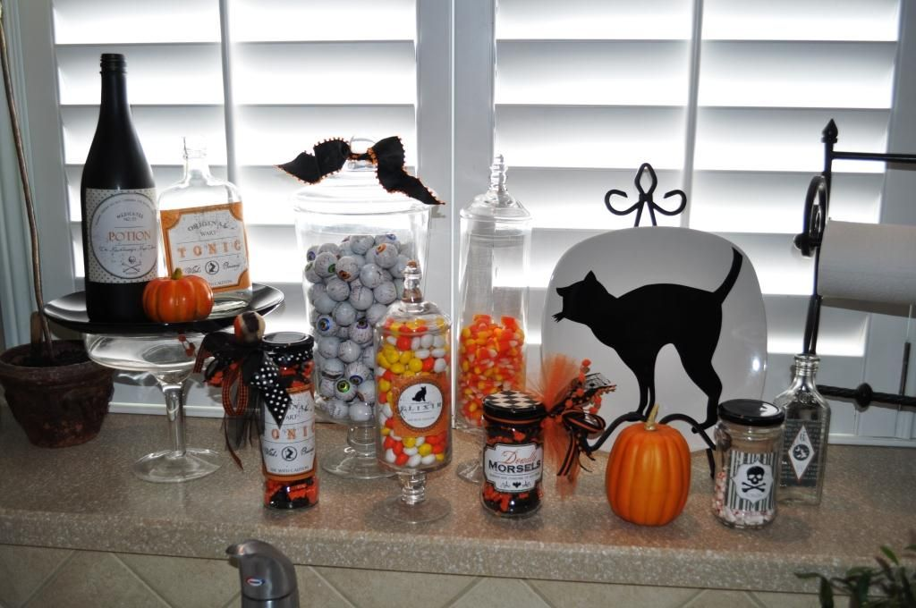 Decorating ideas for halloween Michael\u0027s has the jars, just need a - decoration ideas for halloween party