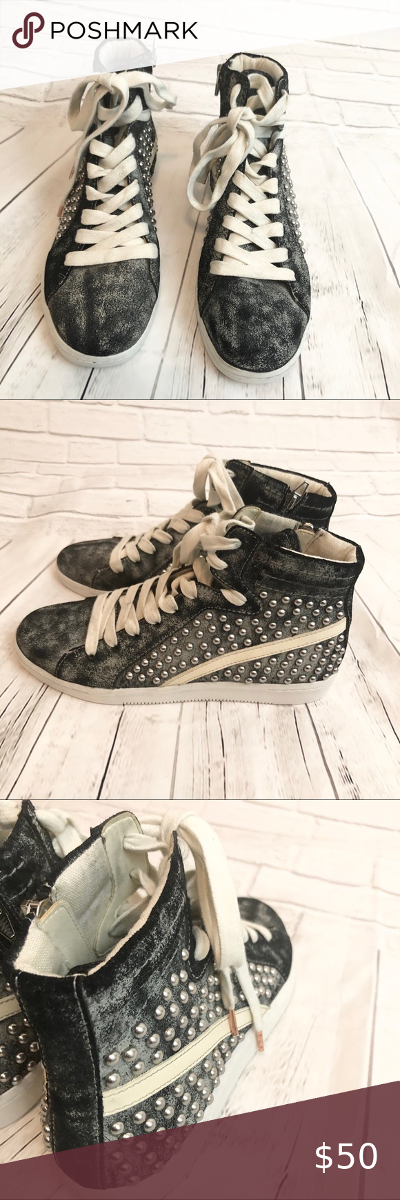 Dolce Vita Natty Studded Sneakers in