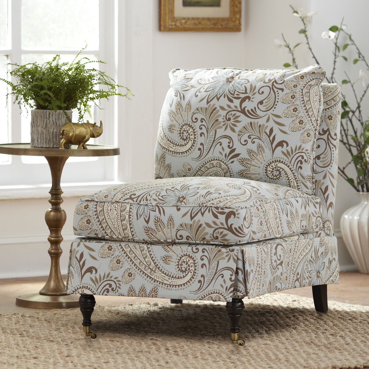 slipcover for armless slipper chair outdoor covers target kendall with an profile and