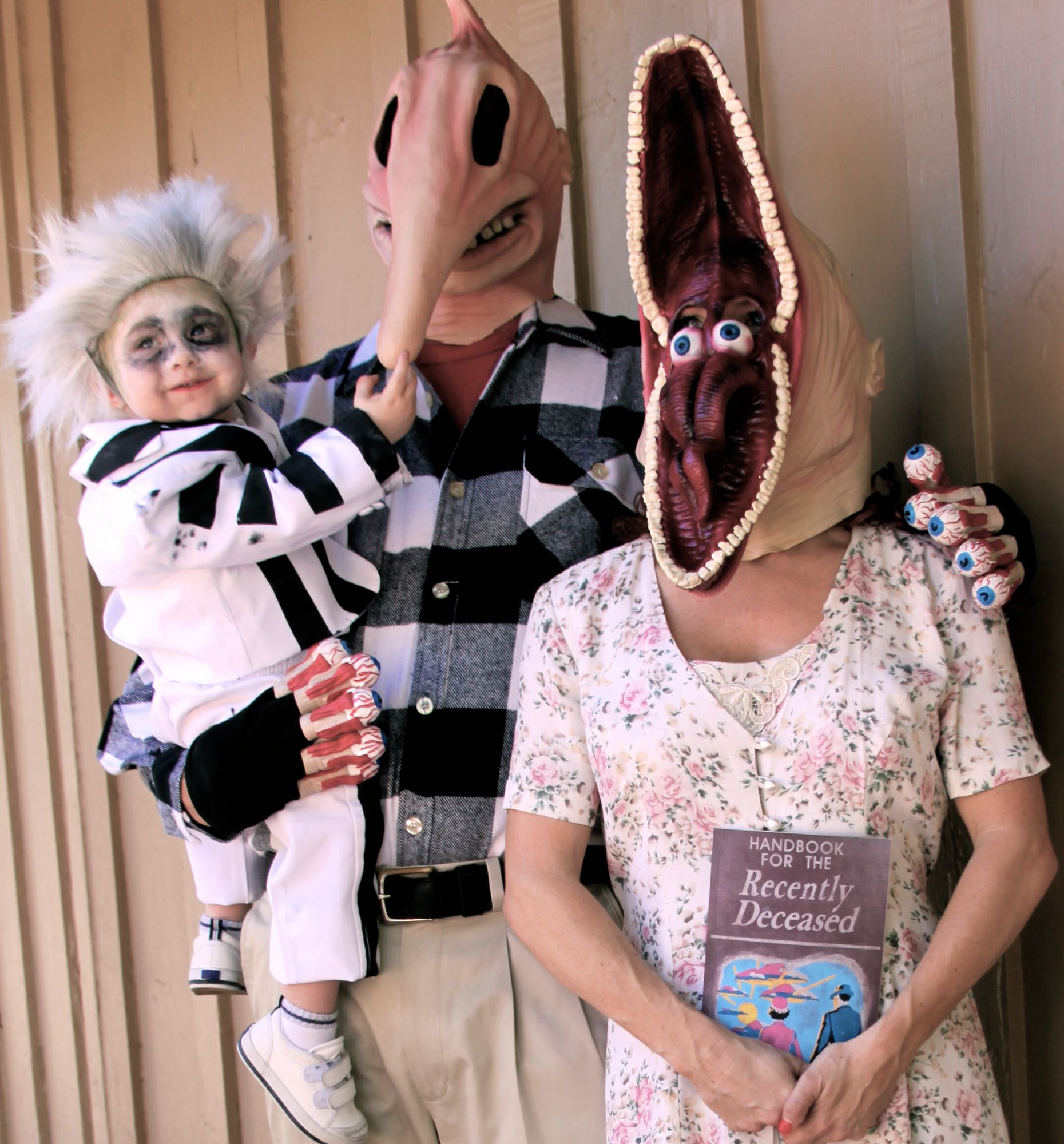 Our Family Halloween Costume This Year Beetlejuice Beetlejuice Halloween Costume Family Halloween Costumes Beetlejuice