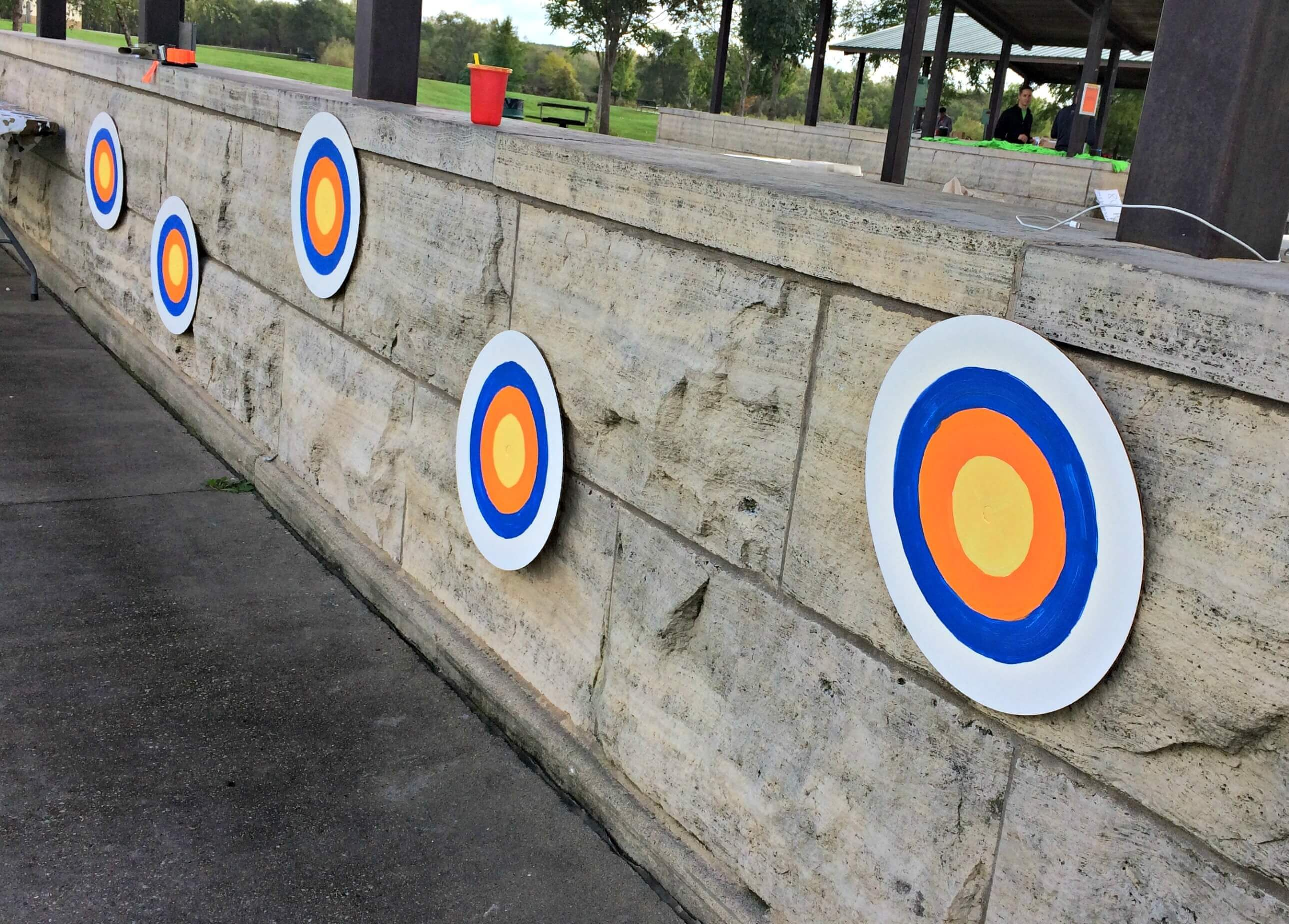 Nerf Party Bullseye Targets - target practice
