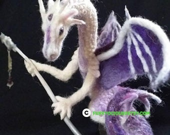 Felt dragon | Etsy UK #feltdragon