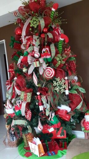Arboles de navidad navidad pinterest navidad for Arboles navidenos decorados