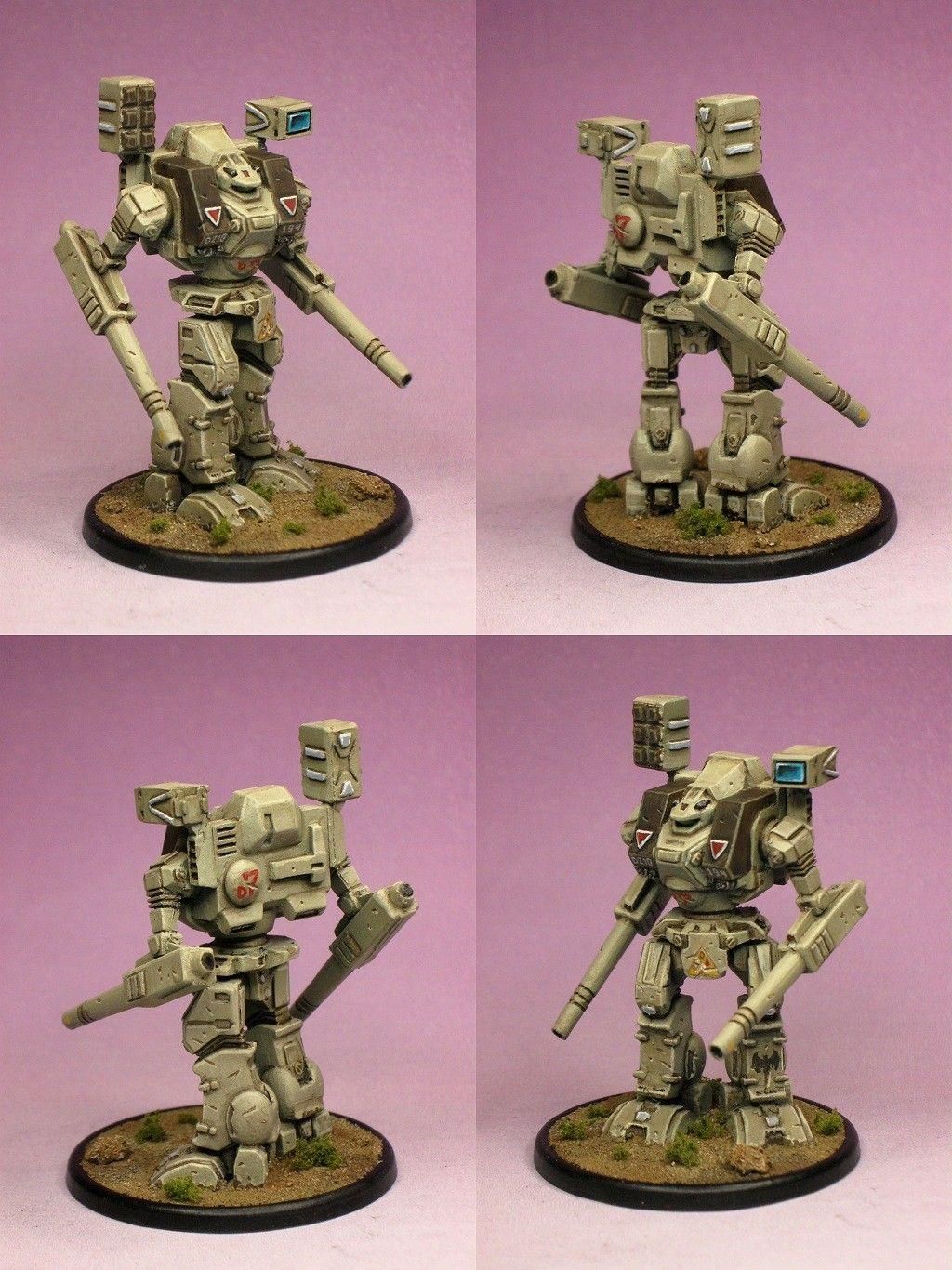 Warhammer Robotech macross, Mech, Miniatures