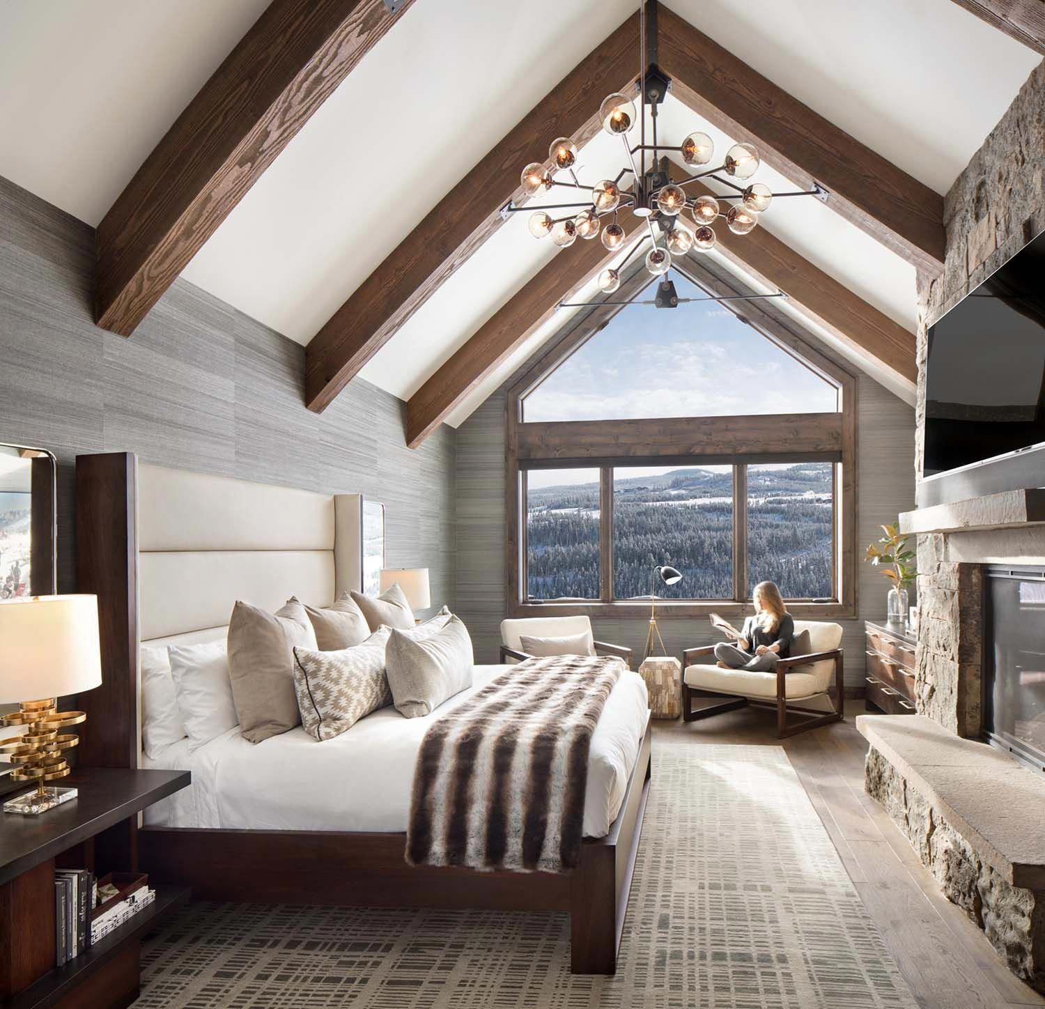 Gorgeous mid-century modern inspired mountain home in Big ... on mountain contemporary bedroom, monticello bedroom, salmon bedroom, london bedroom, murphy bedroom, lexington bedroom, harrison bedroom, pendleton bedroom, walnut bedroom, rustic bedroom, modern luxury bedroom, mexico bedroom, forest inspired bedroom, cabin bedroom, mount vernon bedroom, paris bedroom,