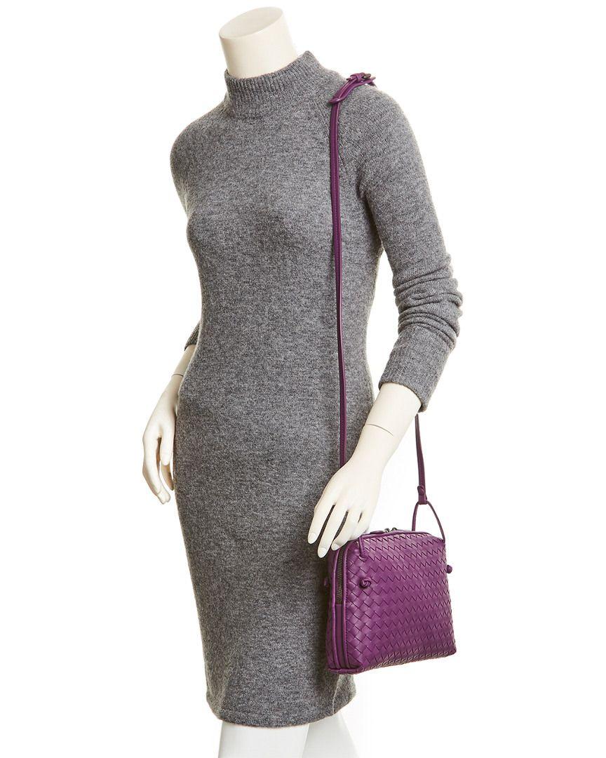 Bottega Veneta Nodini Intrecciato Leather Messenger Bag  Nodini ... 68eda93f63a1a