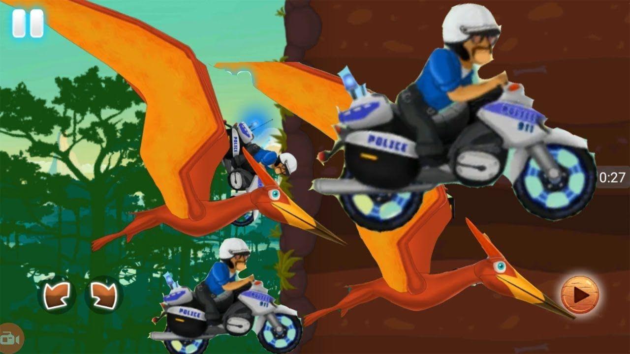 Racing Games For Kids - Motorcycle Racing With Dinosaurs - Fun Kids ...