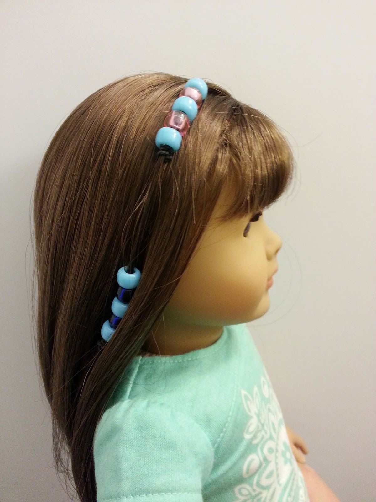 Doll Hairstyles Extraordinary Fun With Ag Fan Doll Hairstyle Basic Beads  Ag  Pinterest  Doll