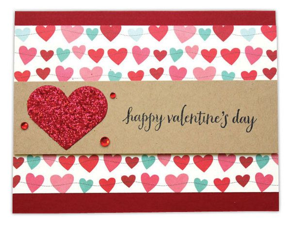 Happy Valentine S Day Card By Crafts Direct Crafts Direct Card