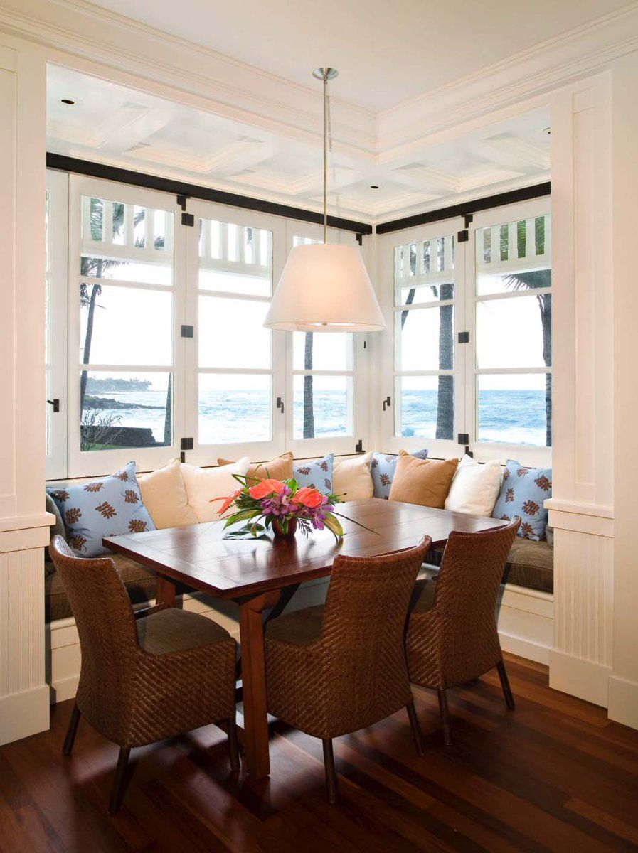 Highlights Dining Nook Tropical Dining Room Dining Design