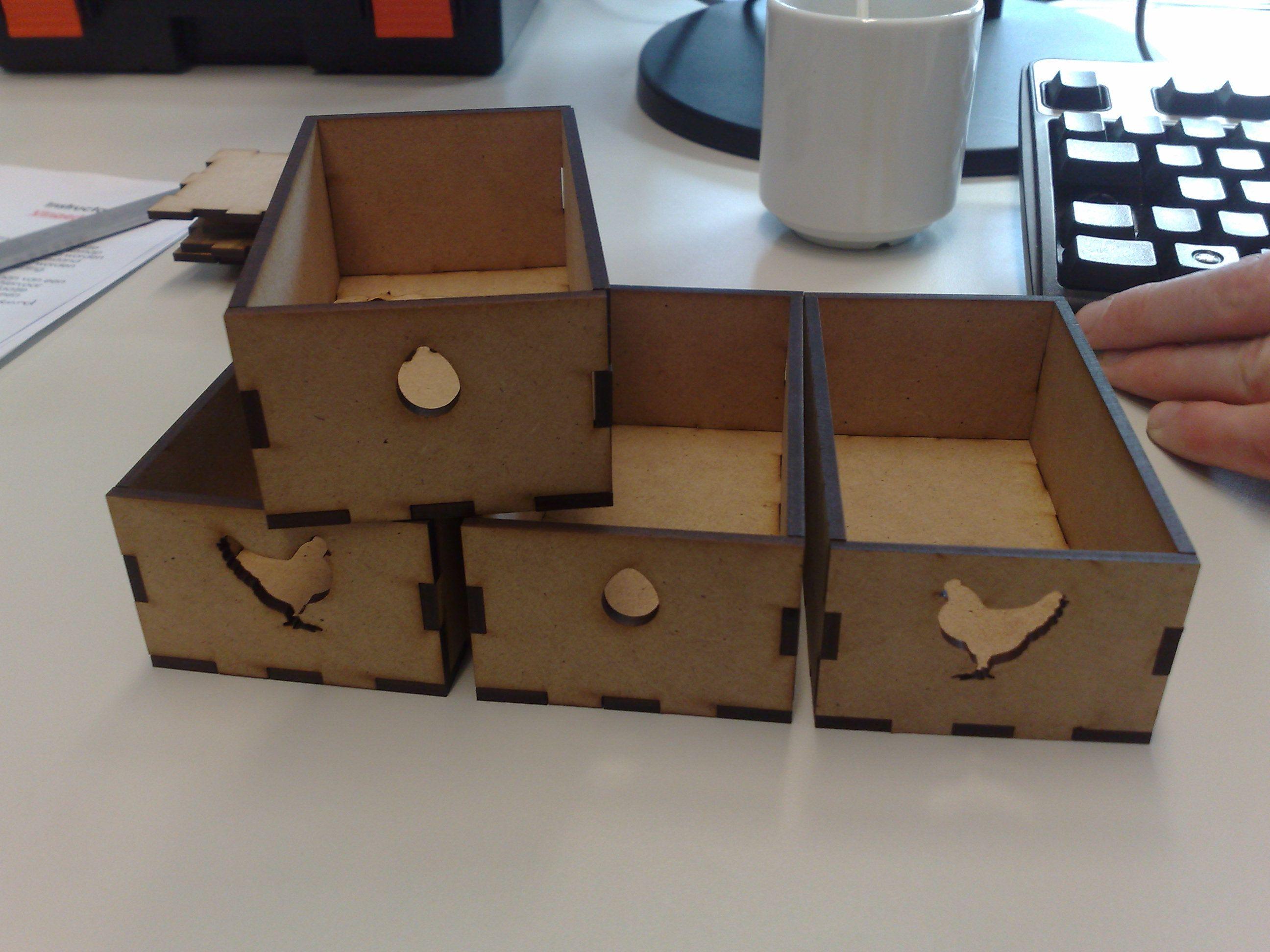 Free parametric design tool for laser cutting « Ponoko – Blog ... for Laser Cut Cardboard Box  45hul