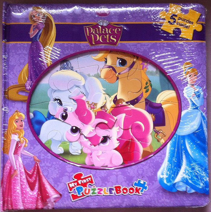 Disney Princess Palace Pets 5 Puzzle Book New Sealed Disney With
