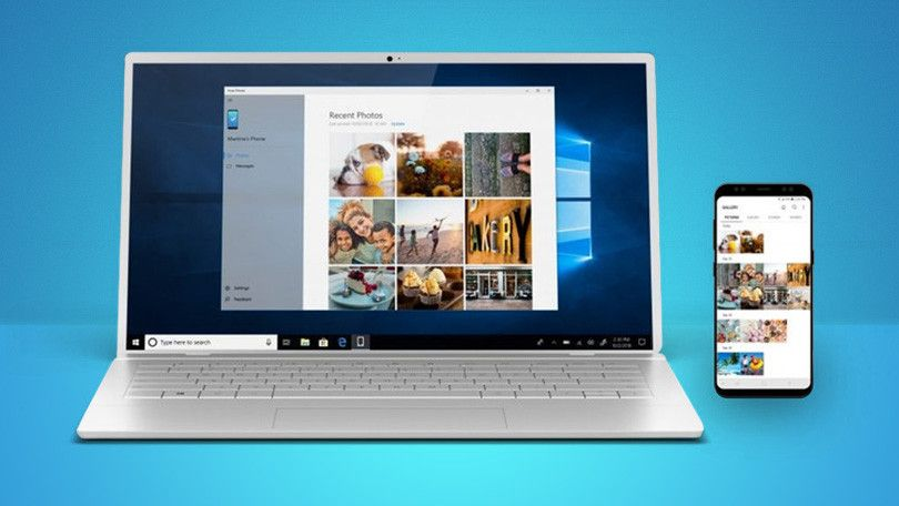 How to connect windows 10 and android using microsofts