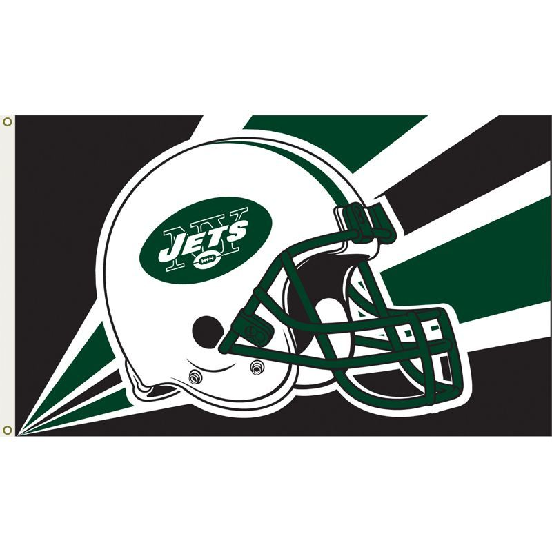 New York Jets 3'x5' Flag