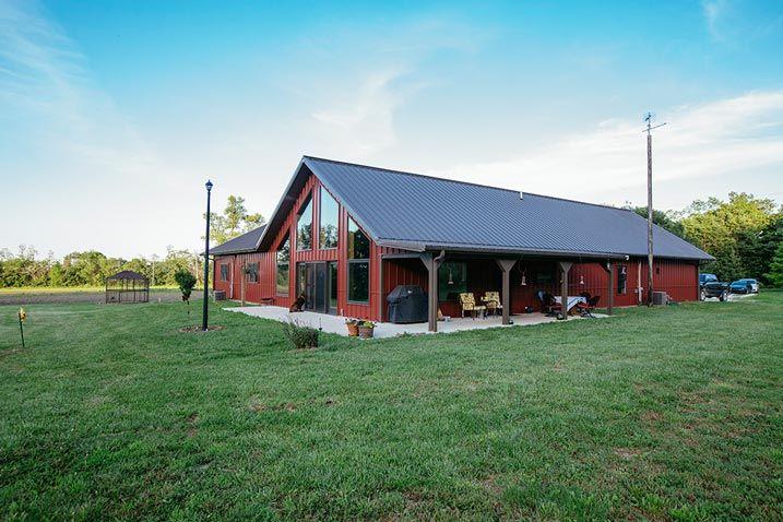 General Steel Metal Homes Metal Building Barn Post