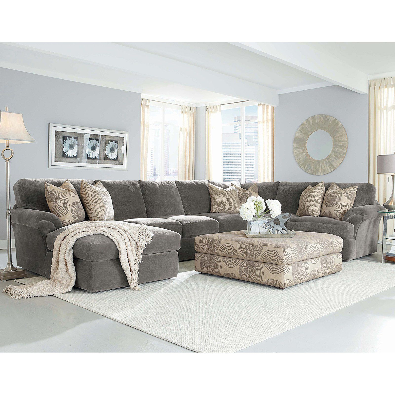 Have to have it Chelsea Home Bradley 3 Piece Sectional Sofa
