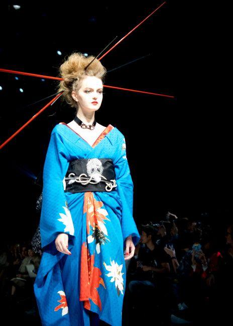 X JAPAN YOSHIKIの着物ブランド「Yoshikimono」初コレクション