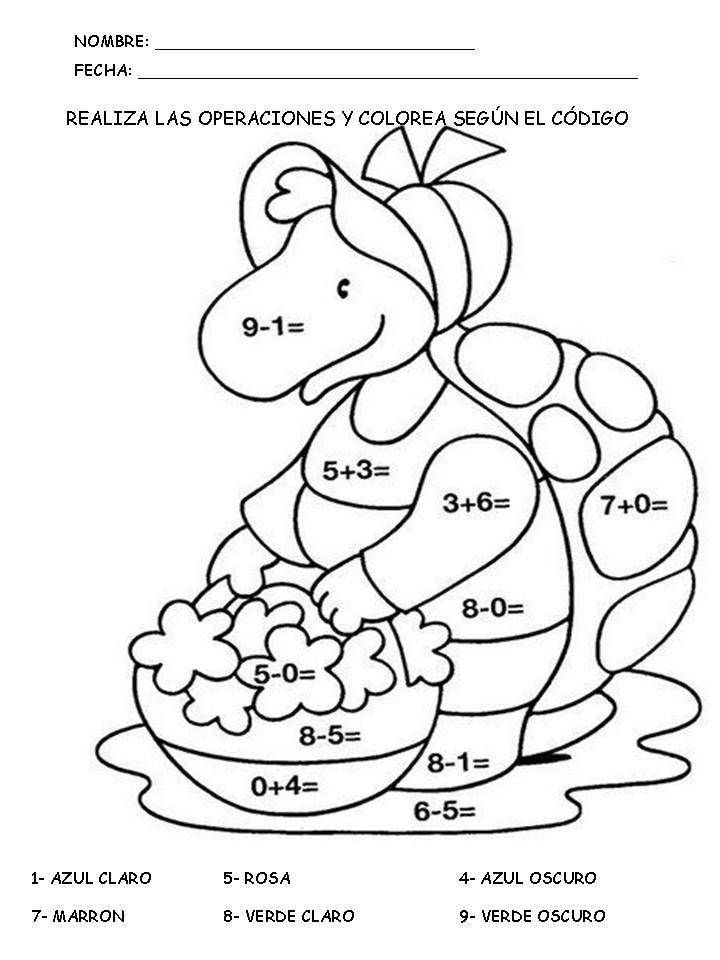 Operaciones con Manuelita | Matemáticas: Suma y resta | Pinterest ...