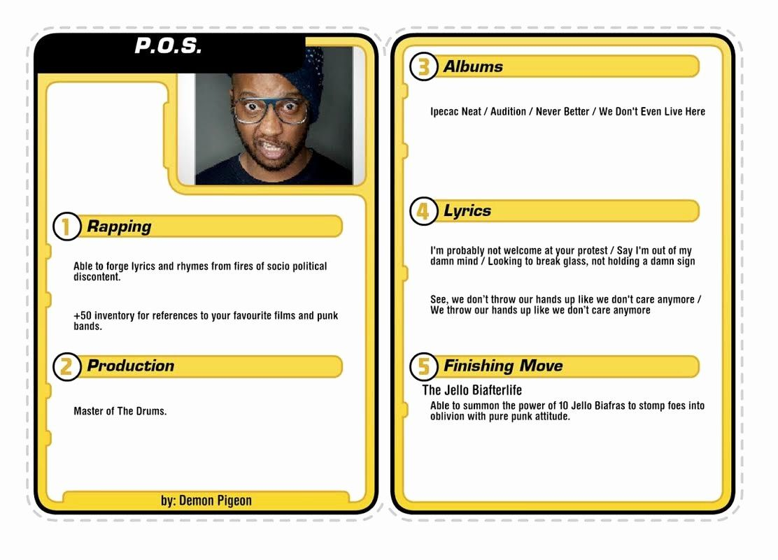 Microsoft Word Trading Card Template Best Of Rap Music in ...