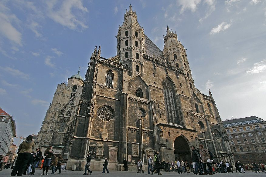 St. Stephen's Cathedral Vienna: check.