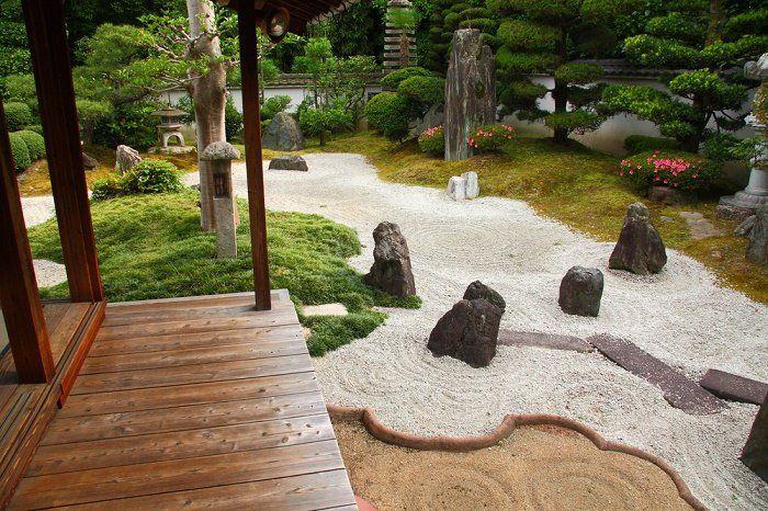 Jardín zen madera Jardín Zen Pinterest - jardines zen