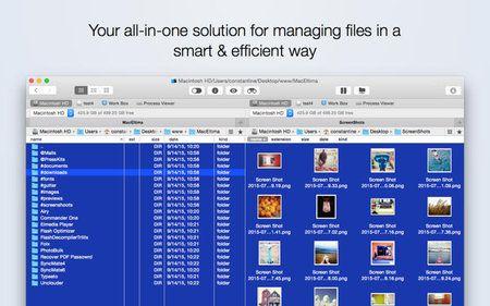 Commander One PRO 1 0 Multilangual Mac OS X Full Download