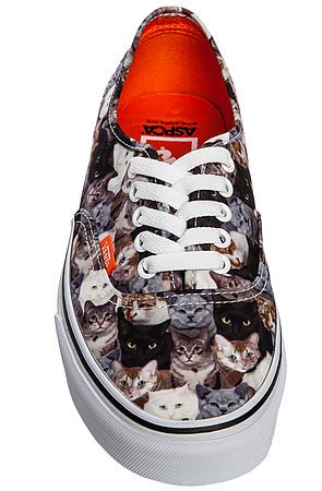 af09650e43 The Vans x ASPCA Authentic Sneaker in Cat Print