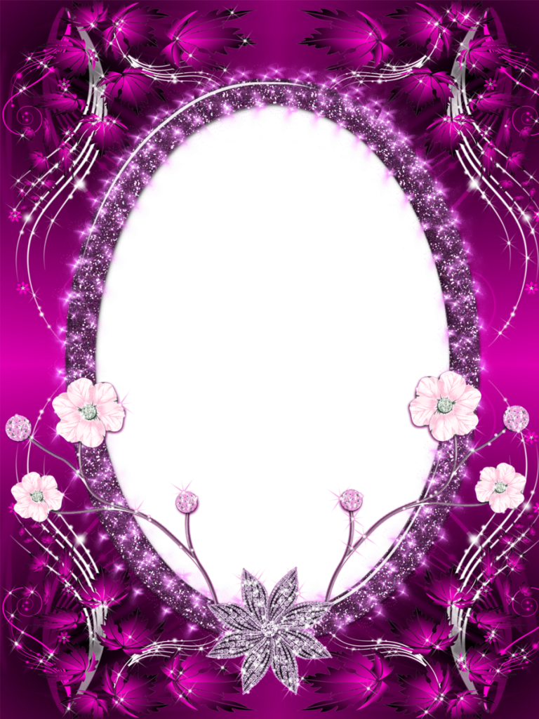 Beautiful Pink Transparent PNG Photo Frame | Photo Frames ...