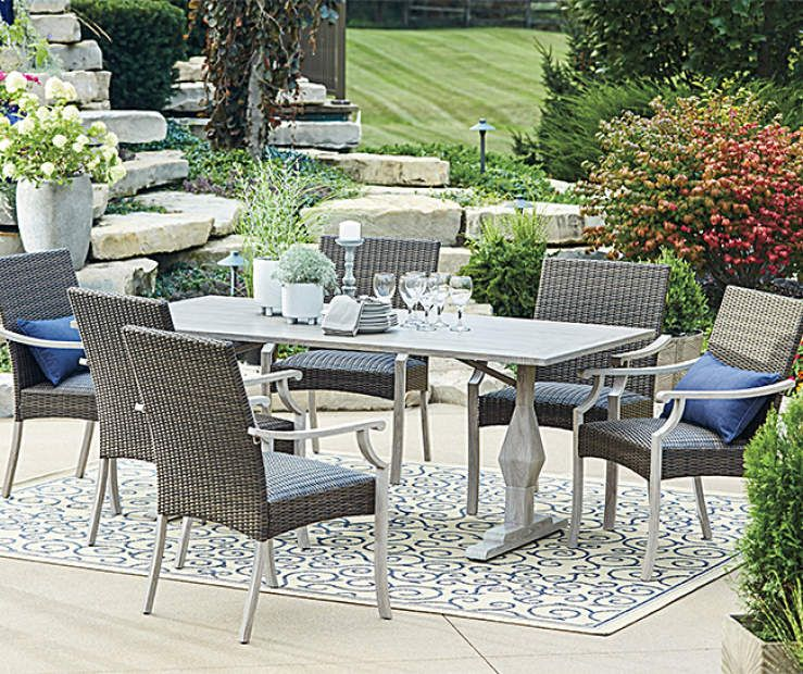 Wilson Fisher Innisbrook 7 Piece Patio Dining Set At Lots