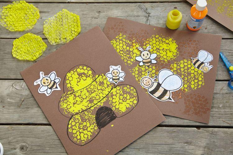 Ideen mit Luftpolsterfolie zum Selbermachen – die Verpackungsfolie bietet viele Einsatzmöglichkeiten im Haushalt #preschoolers