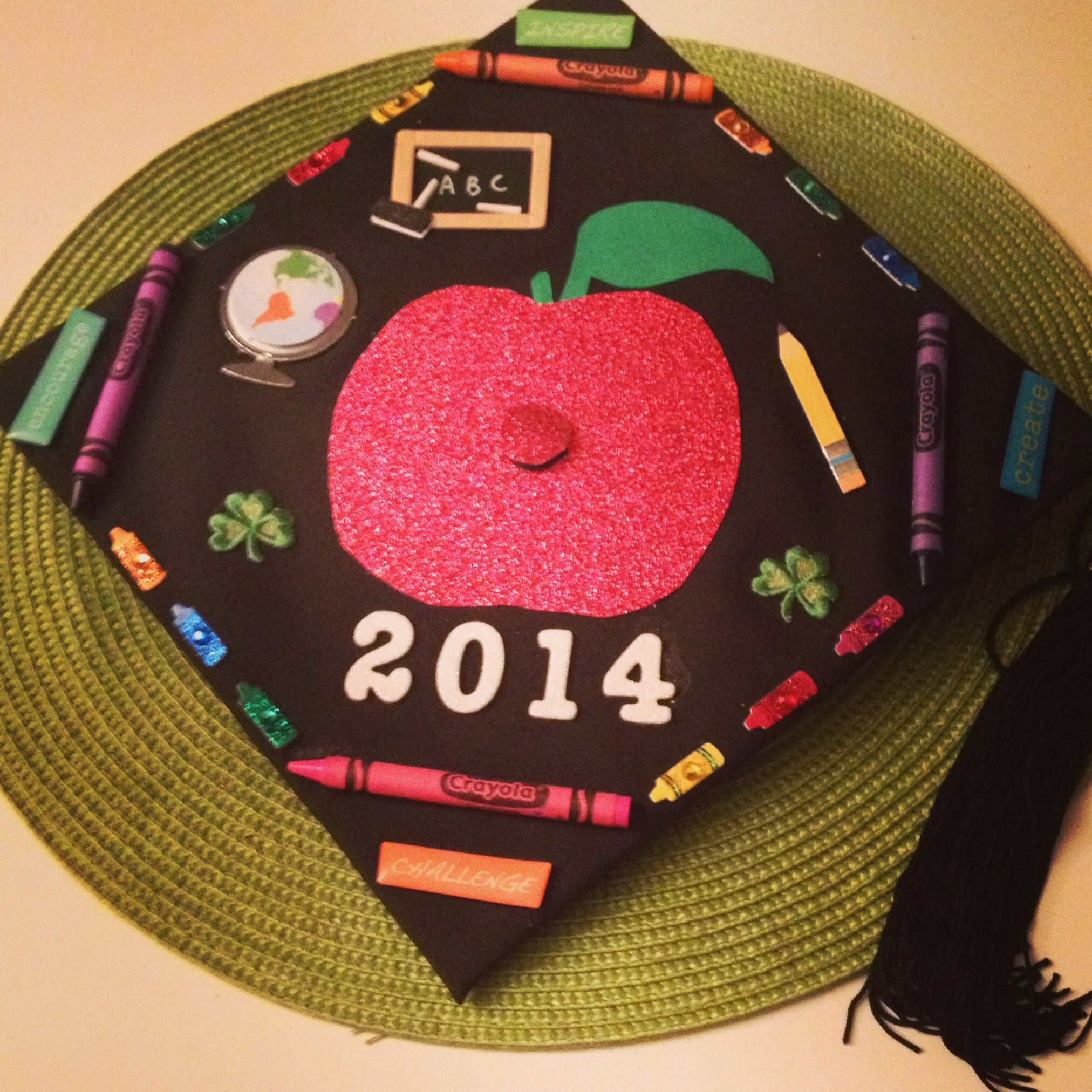 Decorating graduation cap ideas for teachers - Future Teacher Graduation Cap