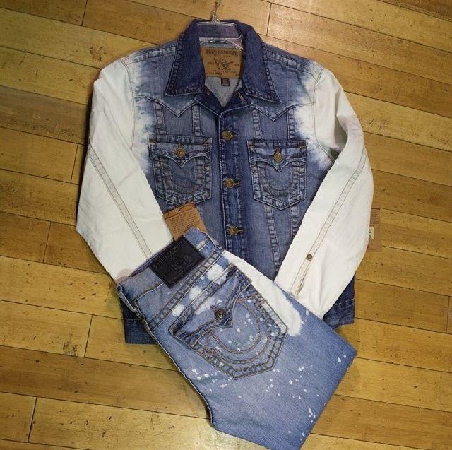 True Religion Jean jacket outfit | Fashionista Mister | Pinterest ...