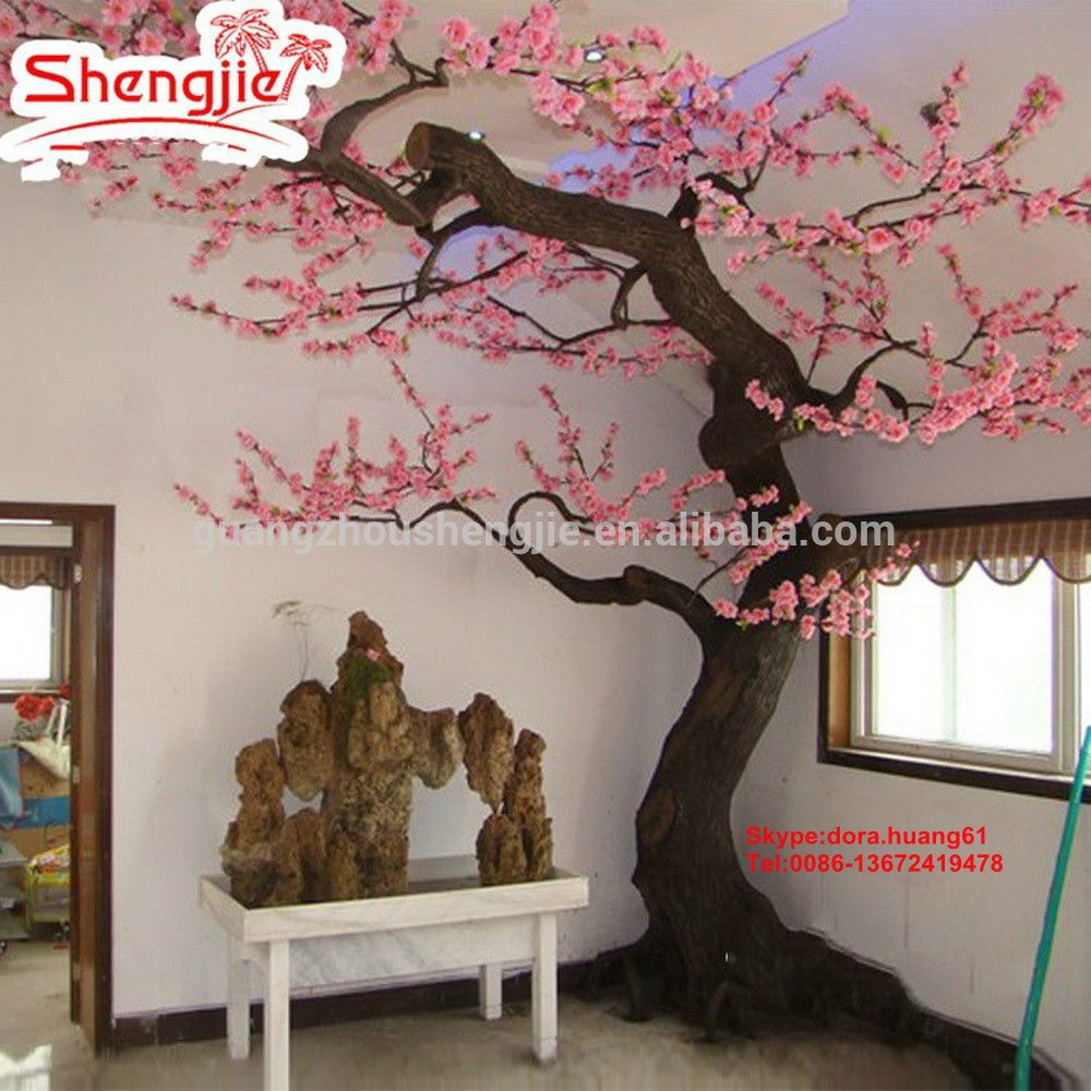 Sjh122406 Artificial Cherry Blossom Tree Indoor Decoration Flower Tree Peach Tree Find Comple Artificial Cherry Blossom Tree Blossom Trees Peach Blossom Tree